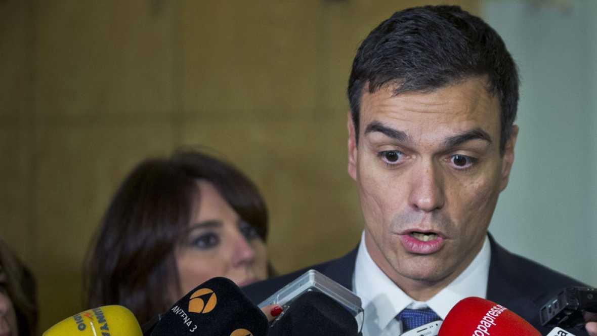 Sánchez apoya modificar el artículo del déficit cero que Zapatero pactó con el PP en la Constitución