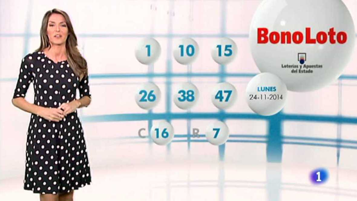 Bonoloto - 24/11/14 - Ver ahora