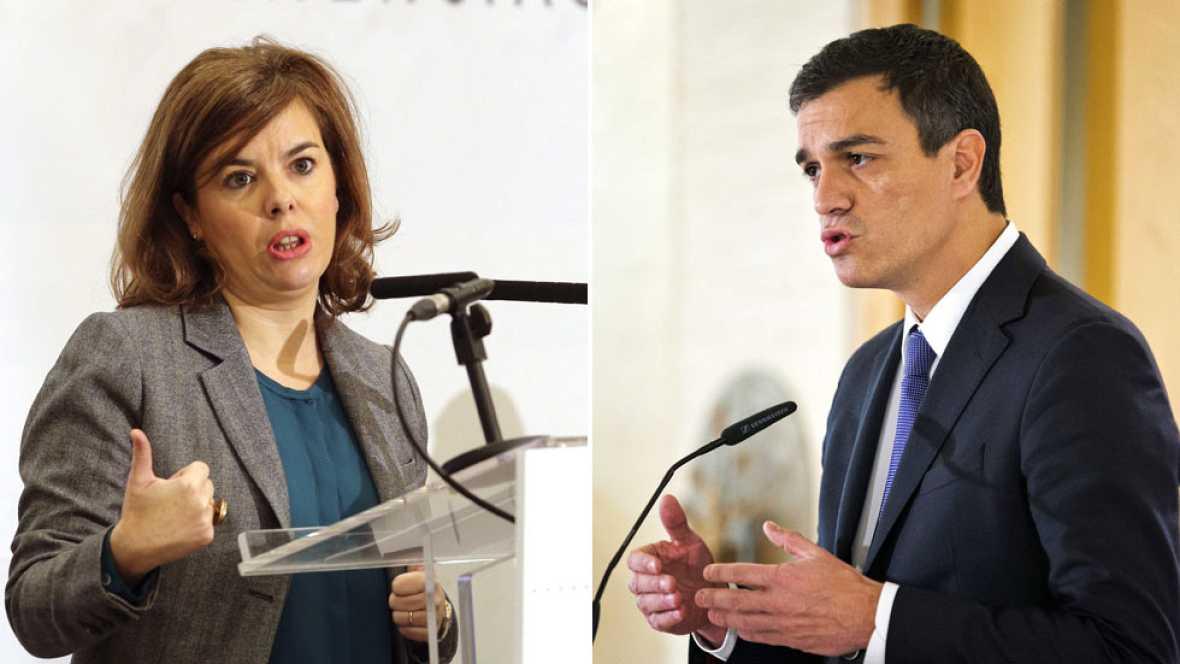 """El Gobierno califica de """"populista"""" que Sánchez plantee modificar el artículo 135 de la Constitución"""