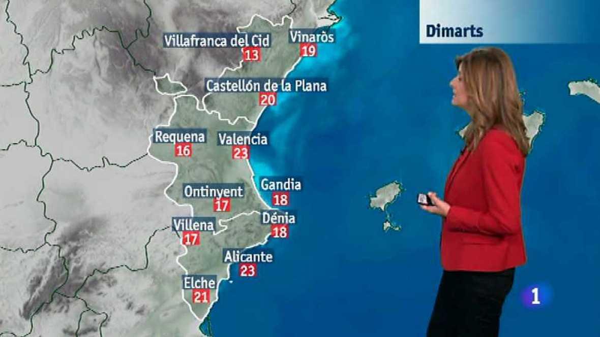 El tiempo en la Comunidad Valenciana - 25/11/14 - Ver ahora