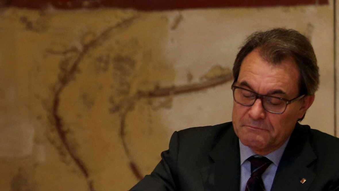 Expectación en Barcelona por la conferencia de Artur Mas en la que desvelará su hoja de ruta después del 9N