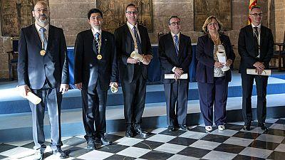 Se entregan en Valencia los premios Rey Jaime I