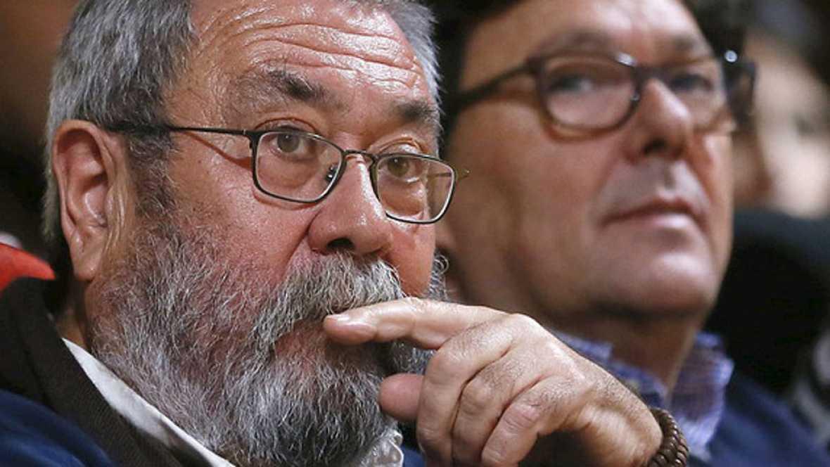 """Méndez: """"No me presentaré en ningún caso a la reelección como secretario general de UGT"""""""