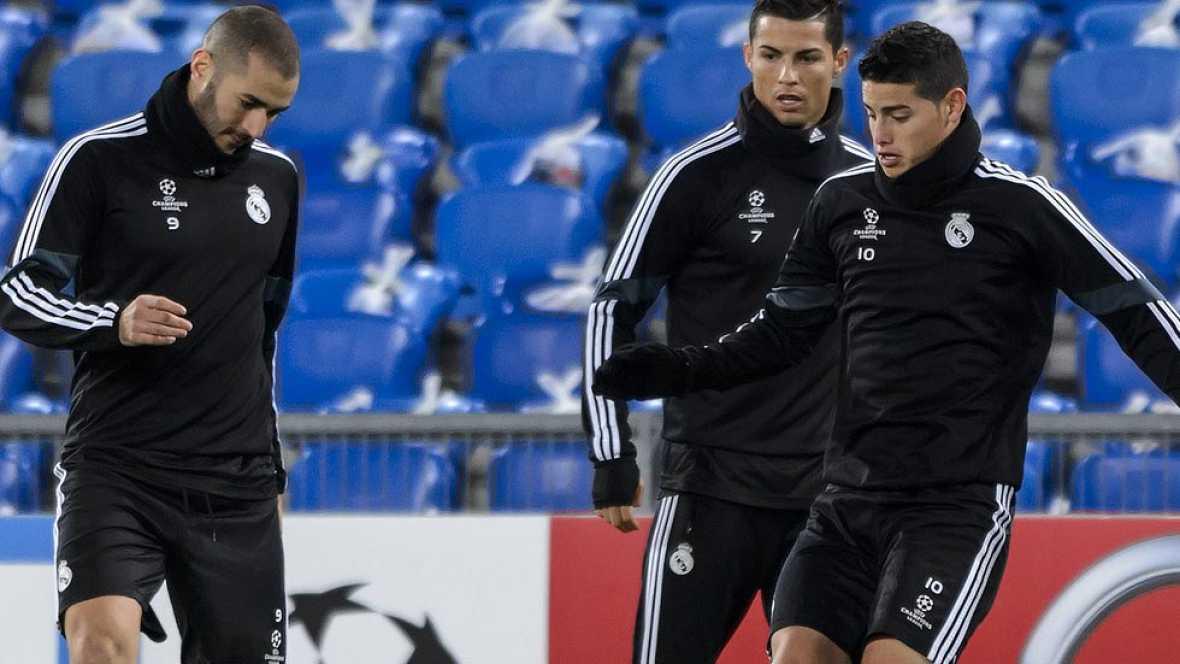 Con el pase a octavos en el bolsillo, el Madrid de Ancelotti jugará en Basilea con el objetivo de conseguir su 15ª victoria consecutiva, un récord con el que el técnico italiano igualaría a Miguel Ángel y Mourinho.