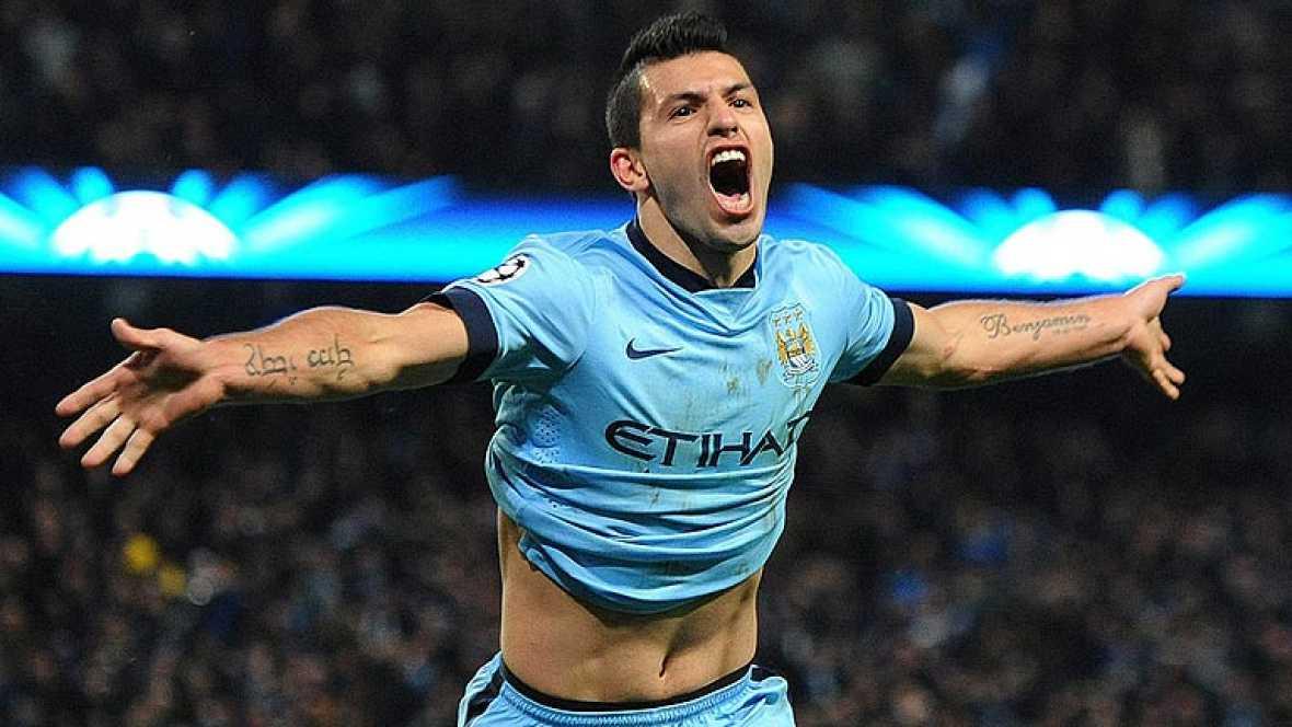 Agüero da oxígeno al Manchester City
