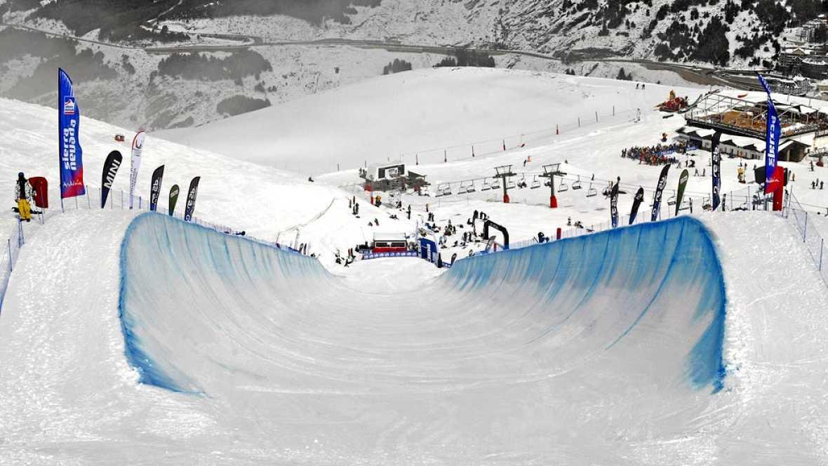 Video oficial de la temporada invernal 2014-15 de la estación andaluza. Sierra Nevada es la primera que abre sus pistas al público de toda la península ibérica.