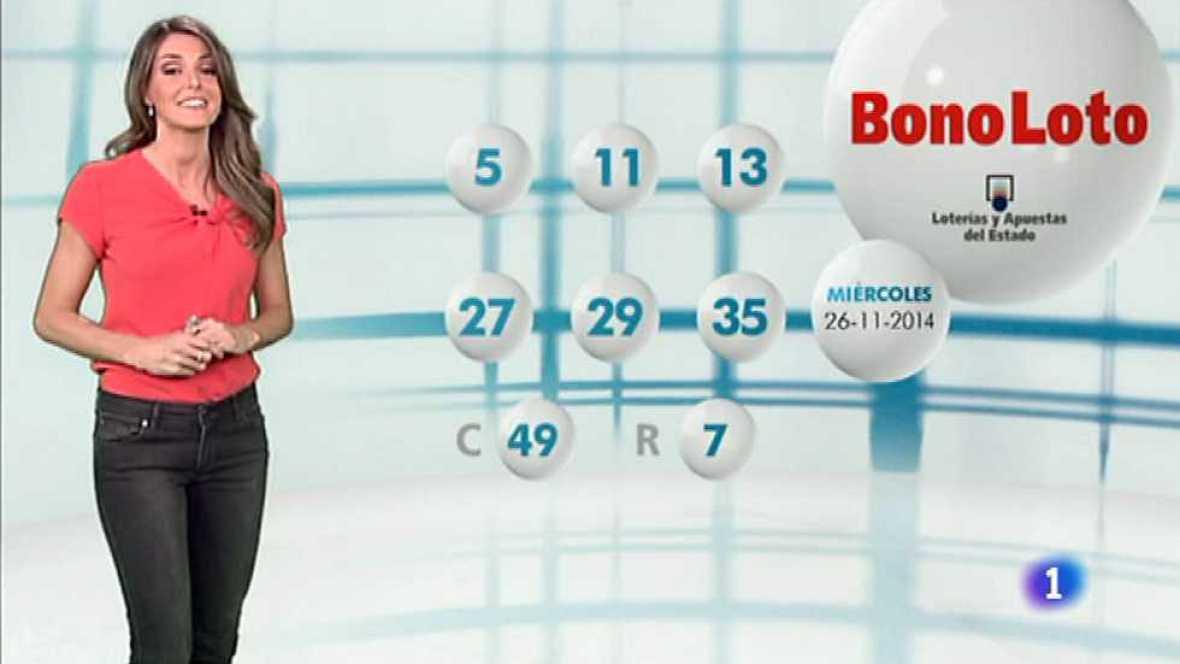 Bonoloto - 26/11/14 - Ver ahora