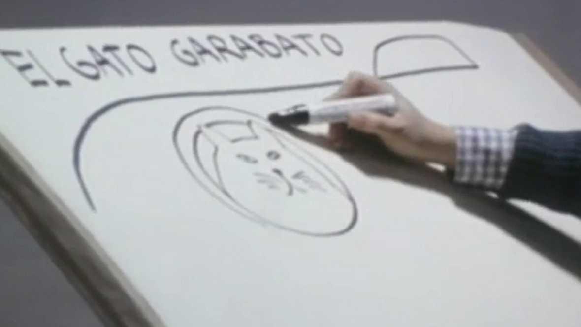 Gloria Fuertes recita 'El gato garabato''