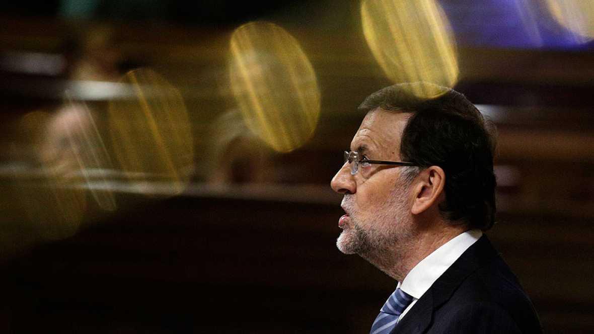 Rajoy lee el auto de Ruz en el Congreso para defender que Ana Mato no está imputada