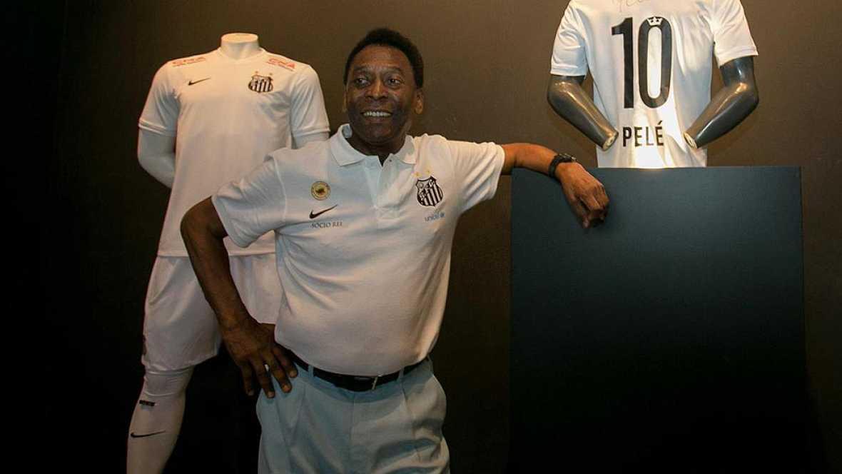 """Pelé afirma que está """"mejor"""""""