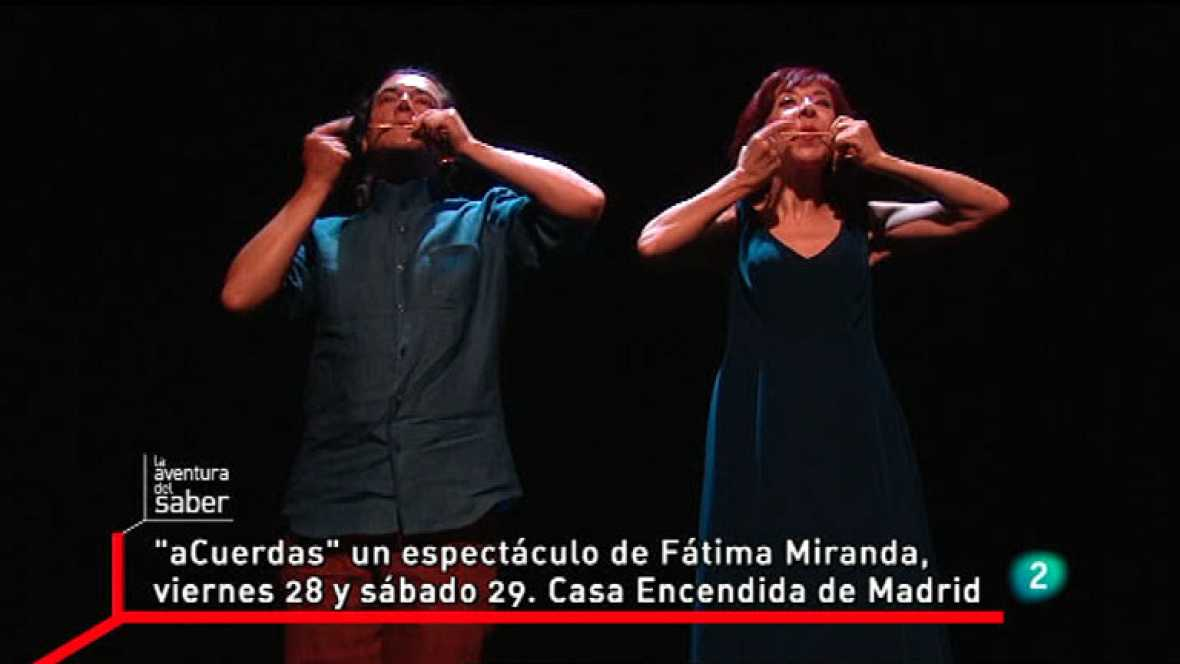 La Aventura del Saber. aCuerdas, de Fátima Miranda con Marc Egea