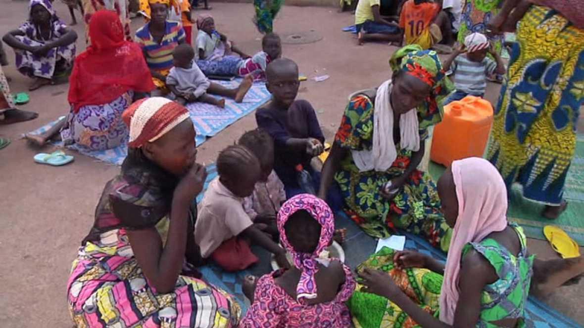 Más de 100.000 personas han tenido que huir de sus casas por culpa de Boko Haram