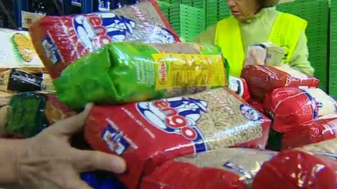 Los bancos de alimentos celebran la 'gran recogida' para reunir 20 millones de kilos de alimentos