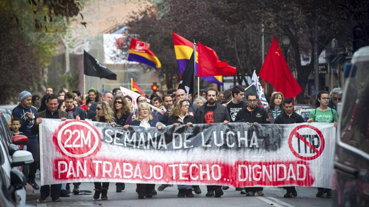 """Las """"Marchas por la Dignidad"""" vuelven a salir a la calle"""
