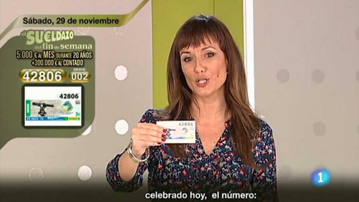 Sorteo ONCE - 29/11/14 - Ver ahora
