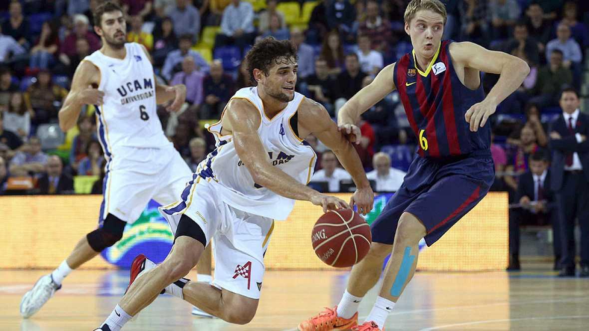El Barcelona ha conseguido su victoria número mil ante el UCAM Murcia, en una mañana en la que también ganaron Laboral Kutxa y Bilbao Basket.