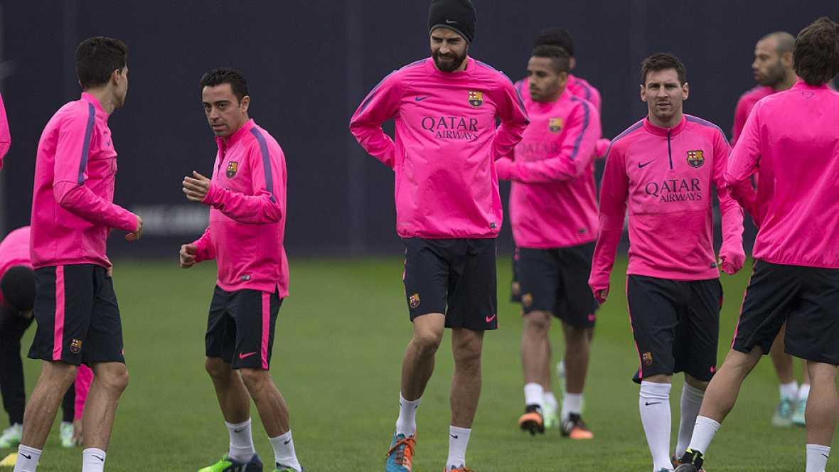 El Barça se enfrenta en Mestalla al Valencia en un choque que medirá el momento de ambos equipos, que luchan por la parte alta de la tabla.