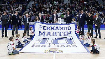 El madridismo homenajea a Fernando Martín en el 25 aniversario de su muerte
