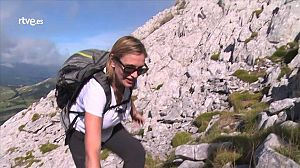 Ainhoa Arteta sube al Monte Aitxuri - Avance