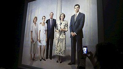 """Antonio López ha terminado """"La familia de Juan Carlos I"""", obra en la que lleva trabajando 20 años"""