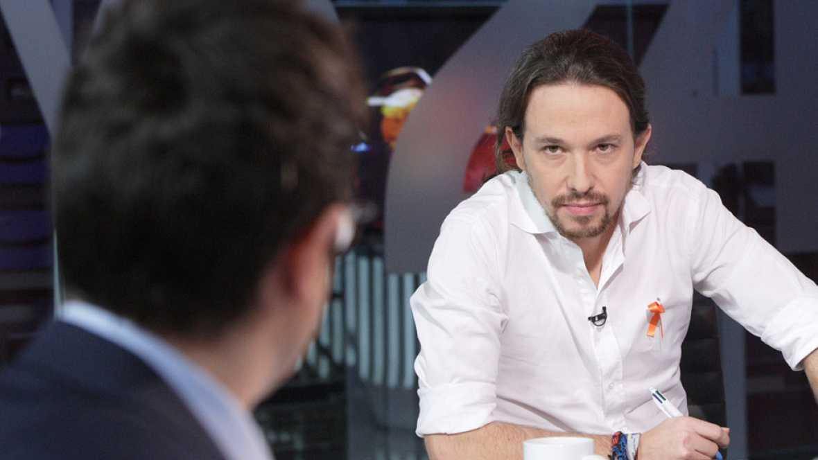 Entrevista a Pablo Iglesias en 'La Noche en 24h'