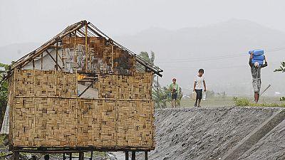 Máxima alerta en Filipinas por la llegada del tifón Hagupit