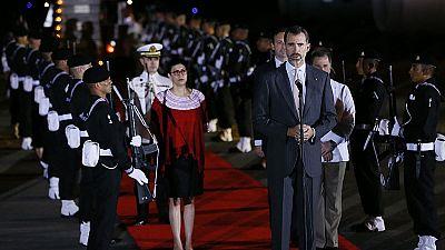 Rajoy y el rey llegan a Veracruz para participar en la Cumbre Iberoamericana