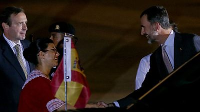 El rey Felipe ya está en México para asistir a la cumbre Iberoamericana