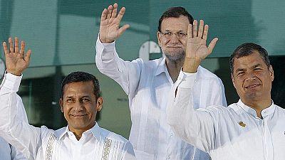 El Rey y Rajoy se reúnen esta tarde con presidentes centroamericanos