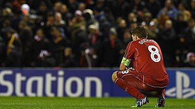 El Liverpool se despide de la Champions