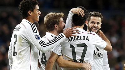 El Real Madrid goleó al Ludogorets 4-0 y cerró la clasificación a octavos de final como primeros de grupo en su 19ª victoria consecutiva.