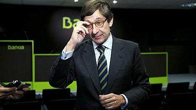 Goirigolzarri dice que Bankia podría devolver lo obtenido con la salida a Bolsa sin más ayudas públicas
