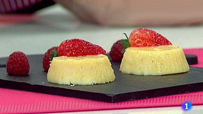 Pastelillos de queso y nata