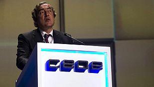 Juan Rosell ha sido reelegido como presidente de la CEOE para los próximos cuatro años