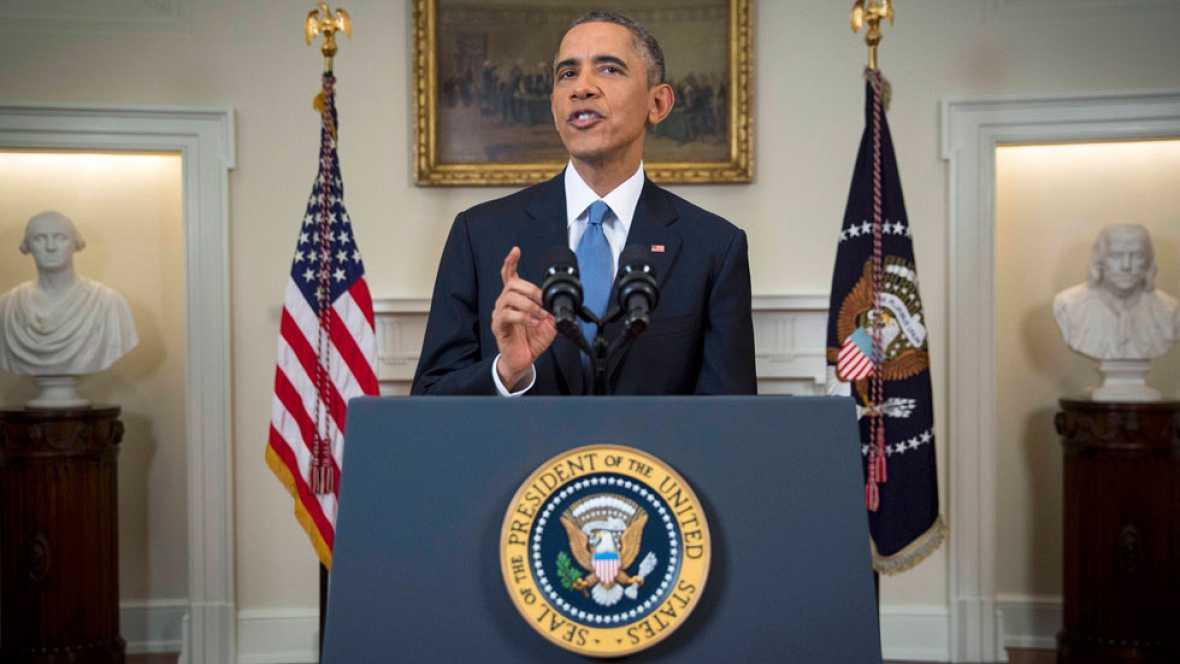 """Obama, sobre Cuba: """"Comenzamos un nuevo capítulo entre las naciones del continente americano"""""""