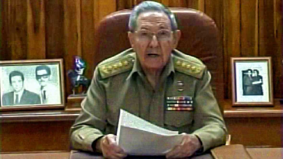 """Raúl Castro, sobre EE.UU.: """"Tenemos que convivir civilizadamente con nuestras diferencias"""""""