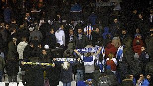 17 detenidos en A Coruña por la pelea ultra