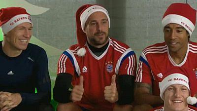 El Bayern más español felicita la Navidad a sus seguidores