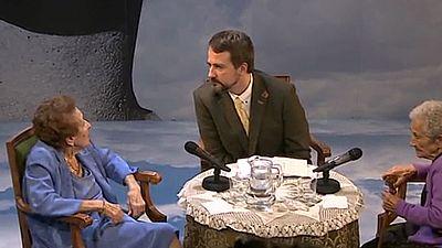 Las voces de ciudadanos anónimos en el Teatro Español
