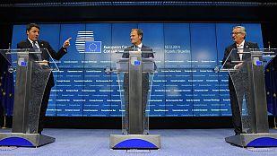 Los líderes europeos apoyan el plan Juncker para reactivar el crecimiento en la Unión Europea
