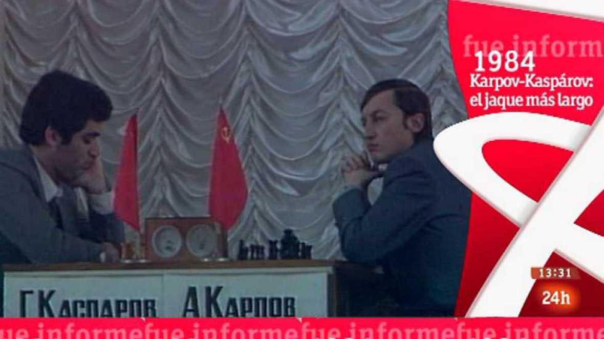 Fue informe - Ajedrez Karpov-Kaspárov: el jaque más largo (1984) - ver ahora