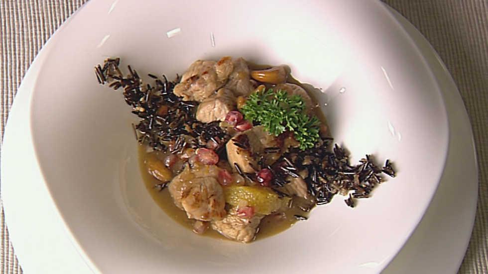 Cocina con sergio pavo salteado a la miel cocina con - Cocina con sergio pepa ...