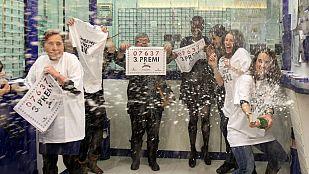 Lotería de Navidad: El tercer premio, el 7.637, cae íntegramente en L'Hospitalet