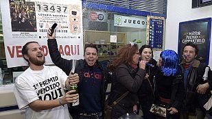 El 13.437, el gordo de Navidad más tardío de la historia, reparte millones en Madrid y varios puntos de España
