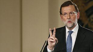 """Rajoy define el año 2014 como el que marca """"un antes y un después"""" en empleo"""