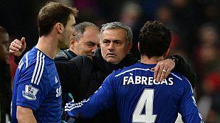 """Mourinho """"echaba"""" de menos ser feliz con sus jugadores"""