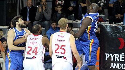 MoraBanc Andorra 72 - CAI Zaragoza 59