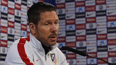 """El argentino Diego Simeone, entrenador del Atlético de Madrid, ha calificado el fichaje de Fernando Torres como """"una llegada importante""""; aunque ha matizado que """"no llega como un salvador"""", al mismo tiempo que ha afirmado que el equipo rojiblanco nec"""