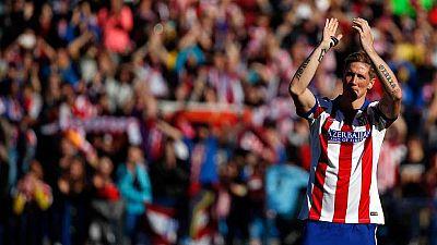 """El delantero Fernando Torres, presentado este domingo como nuevo jugador del Atlético de Madrid hasta el 30 de junio de 2016, recordó que el """"momento"""" de marcharse del equipo rojiblanco hace siete años y medio fue """"muy duro"""" y recalcó que ganó título"""