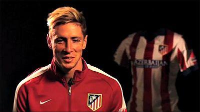 """El reciente fichaje del Atlético de Madrid, el delantero Fernando  Torres, ha manifestado su deseo de poder contagiarse del """"entusiasmo""""  y el """"saber ganar"""" de sus nuevos compañeros, y ha afirmado que con su  vuelta al club rojiblanco se cierra un cí"""
